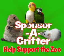 critter squad sponsor a critter