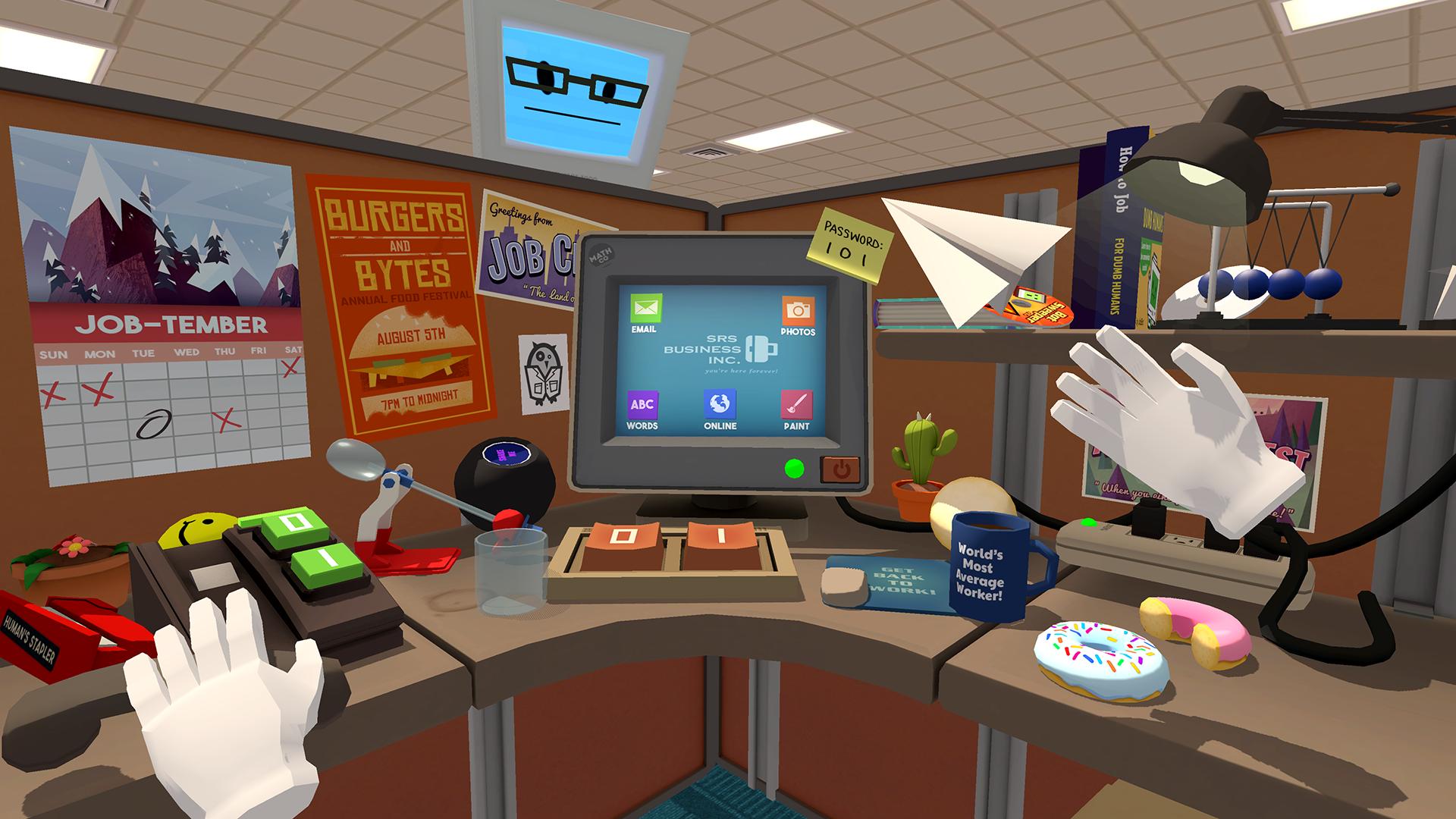 Job Simulator screenshot Office
